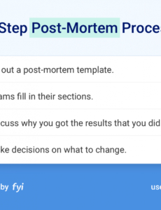 Post Mortem Meeting Agenda Template with regard to Post Mortem Meeting Agenda Template