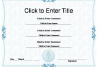 Powerpoint Award Certificate Template 8  Templates within Best Powerpoint Award Certificate Template