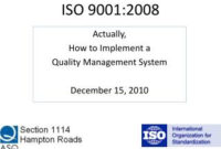"""Ppt  Iso 90012015 """"Risk Based Thinking"""" Powerpoint throughout Free Quality Assurance Meeting Agenda Template"""