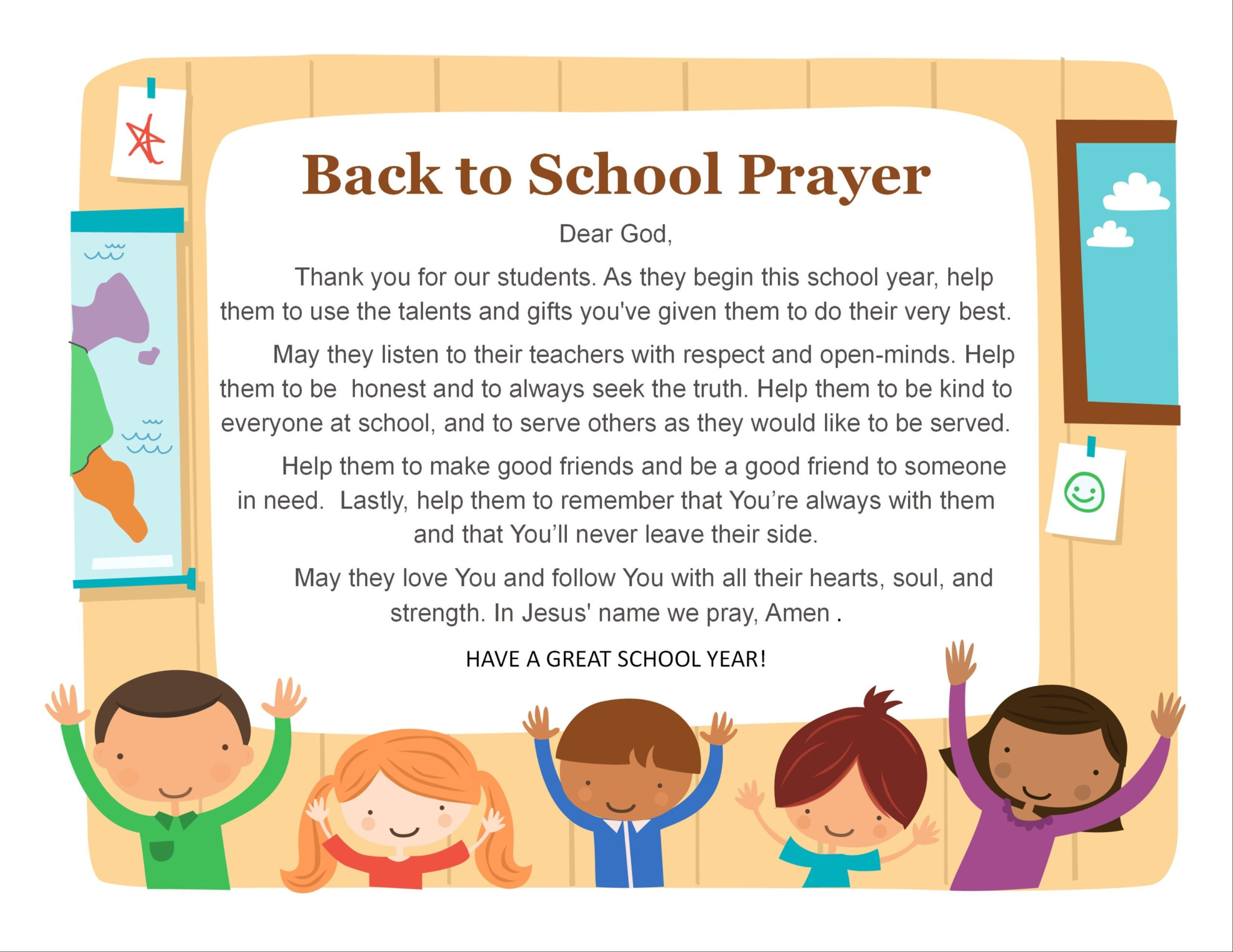 Prayer For The First Day Of School  Google Search  Faith with First Day Of School Certificate Templates Free