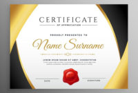 Premium Certificate Of Appreciation Template  Download with Printable Recognition Certificate Editable