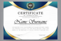 Premium Vector  Certificate Of Appreciation Modern Template with regard to Thanks Certificate Template