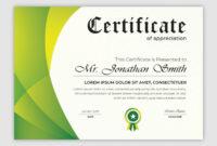 Premium Vector  Certificate Template Design inside Powerpoint Award Certificate Template