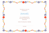 Preschool Completion Certificate 01  Free Certificate pertaining to Amazing Kindergarten Certificate Of Completion Free