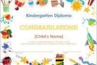 Preschool Graduation Diploma Free Printable  Free inside Preschool Graduation Certificate Free Printable