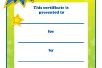 Printable Congratulations Award For Teachers Free within Awesome Star Reader Certificate Templates