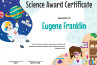 Printable Elementary Science Award Certificate Template inside Awesome Science Achievement Certificate Template Ideas