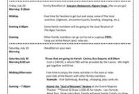 Printable Example Of Family Reunion Program  Grand Rapids inside Family Reunion Agenda Template