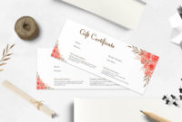 Printable Gifts Certificate Templates Clean And Elegant with regard to Printable Elegant Gift Certificate Template