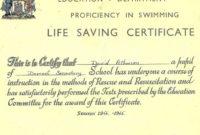Printable Police Saving Life Award Template Life Saving for Quality Life Saving Award Certificate Template