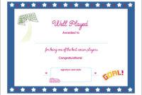 Printable Sports Certificates  Carlynstudio in Printable Editable Running Certificate