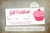 Printable Valentine Photography Gift Certificate Template intended for Best Valentine Gift Certificate Template