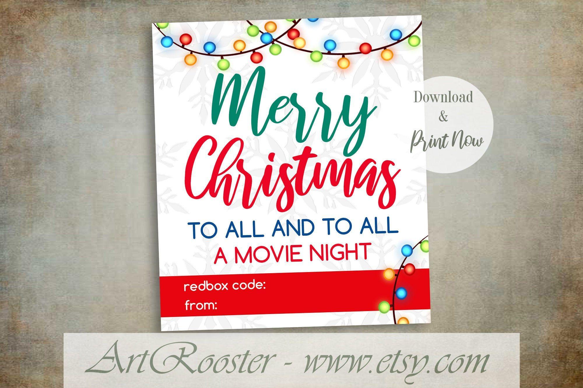 Printableredboxgiftcard Printableredboxchristmas with Best Movie Gift Certificate Template