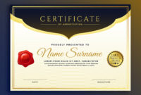 Professional Diploma Certificate Template Design within Free Art Certificate Templates