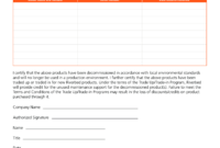 Program Certificate Of Destruction  Templates At with regard to Quality Certificate Of Disposal Template
