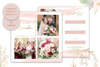 Psd Photography Gift Certificate Card  Adobe Photoshop with regard to Gift Certificate Template Photoshop