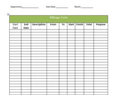Purchase Order Form Templates Free Download  Order Form pertaining to Best Mileage Log For Taxes Template