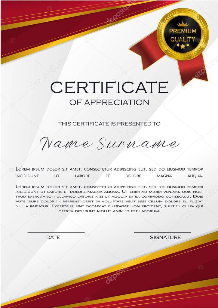 Qualification Certificate Appreciation Design Elegant intended for Printable Qualification Certificate Template