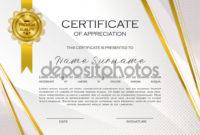 Qualification Certificate Appreciation Design Elegant within Printable Qualification Certificate Template