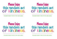 Random Acts Of Kindness Rak  Random Act Random Acts Of within Best Kindness Certificate Template Free