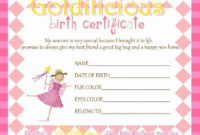 Real Birth Certificate Template Inspirational Free Driver with regard to Girl Birth Certificate Template