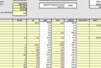 Residential Cost Estimate Template intended for Printable Cost Of Goods Sold Spreadsheet Template