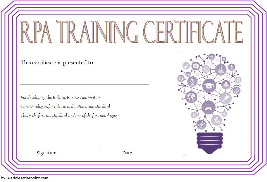 Robotics Certificate Template Free 9 Great Designs regarding Science Fair Certificate Templates