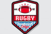 Rugby Championship Label Rugby Ball Championship Png with Rugby League Certificate Templates