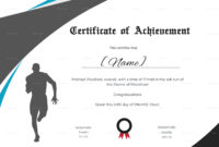Running Certificate Template  Carlynstudio regarding Best Finisher Certificate Template