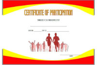 Running Certificate Template  Carlynstudio within Printable Running Certificates Templates Free
