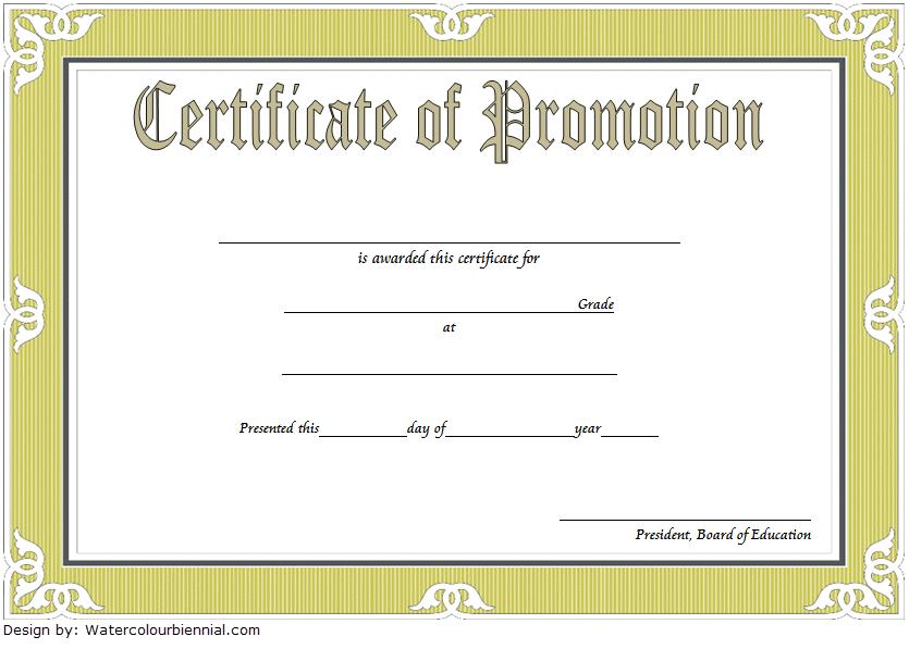 Sample Certificate 5Th Grade Graduation Certificates for 5Th Grade Graduation Certificate Template