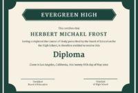 School Certificate Templates  11 Educational Certificate regarding Printable Free School Certificate Templates