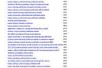 School Leaving Certificate  Fill Online Printable inside Quality School Leaving Certificate Template