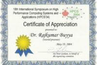 Sealappreciationcertificateprintable with regard to In Appreciation Certificate Templates