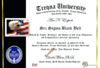 Six Sigma Black Belt Certificate Template  Carlynstudio intended for Awesome Green Belt Certificate Template