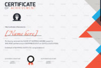 Skipping Award Achievement Certificate Design Template In pertaining to Best Badminton Achievement Certificate Templates