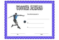 Soccer Award Certificate Template Free 4 In 2020 in Awesome Soccer Award Certificate Template