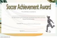 Soccer Certificate Of Achievement Free Printable 6 In 2020 regarding Soccer Certificate Template