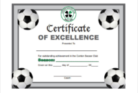 Soccer Certificate Templates For Word  Hand Plane in Awesome Soccer Certificate Template Free
