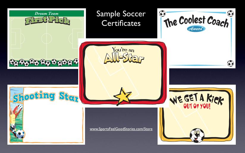 Soccer Certificates  Award Templates Customize with regard to Soccer Certificate Template Free 21 Ideas