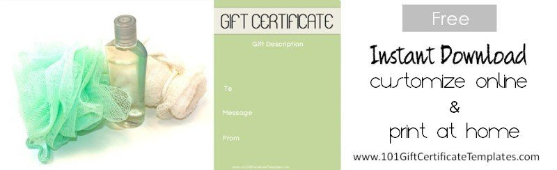 Spa Gift Certificates regarding Amazing Spa Day Gift Certificate Template