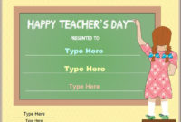 Special Certificate  Certificate For National Teachers for Printable Certificate For Baking 7 Extraordinary Concepts