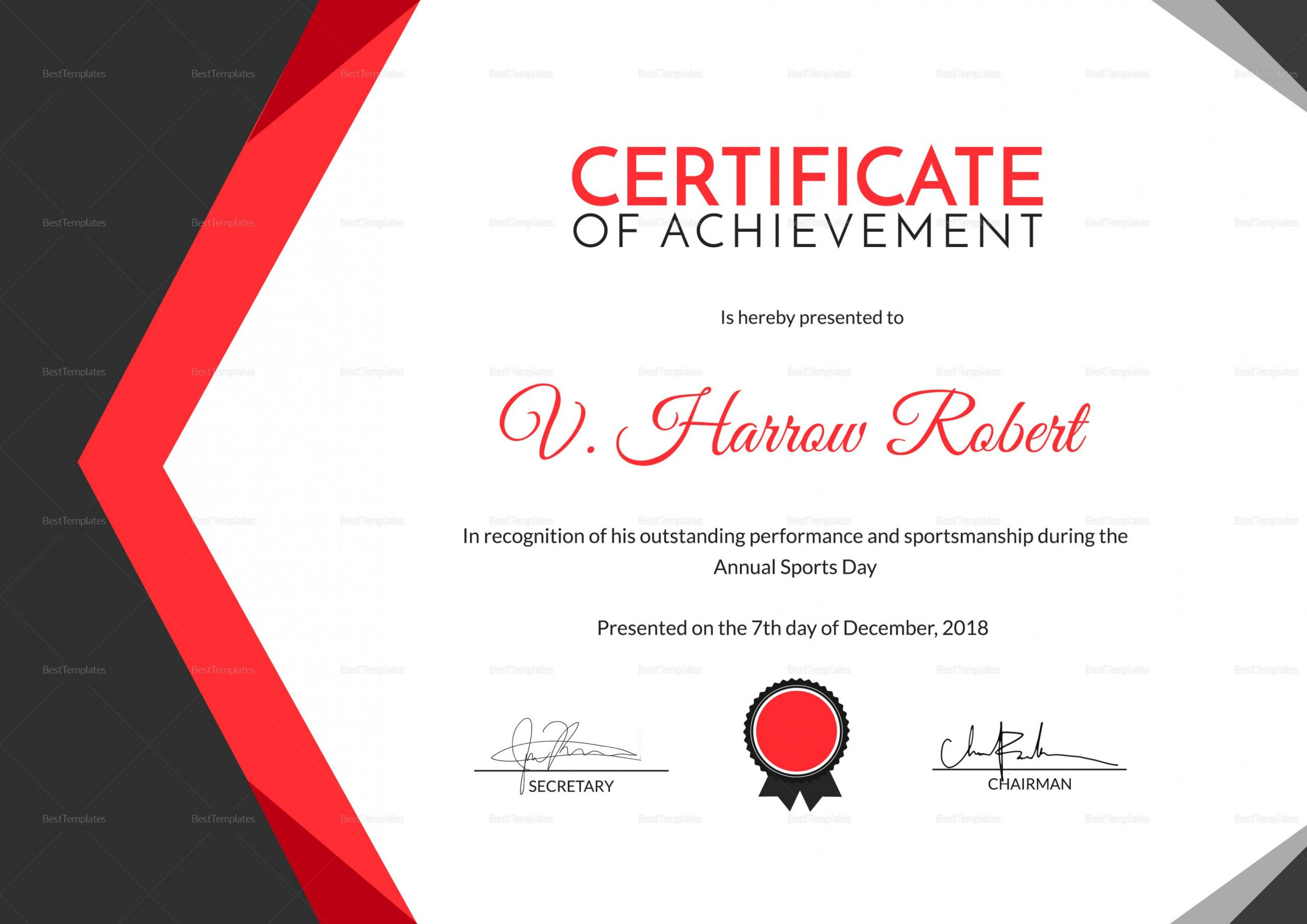 Sport Certificate Template Word Five Reasons Why You with regard to Printable Sportsmanship Certificate Template