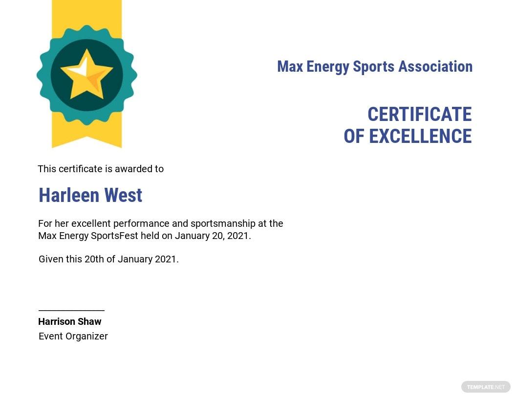 Sports Award Certificate Template  Word Doc  Psd with Amazing Athletic Award Certificate Template
