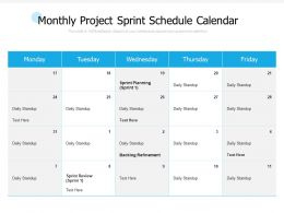 'Sprint Review' Powerpoint Templates Ppt Slides Images inside Free Sprint Planning Agenda Template