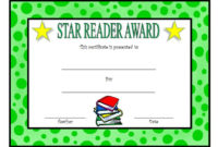 Star Reader Certificate Template Free 2  Reading Awards with regard to Quality Star Certificate Templates Free