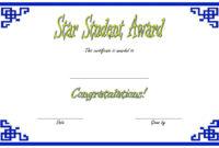 Star Student Certificate Templates  10 Best Ideas Free for Free Student Certificate Templates