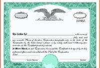 Stock Certificate Template Free Beautiful Blank Free Mon with Best Blank Share Certificate Template Free