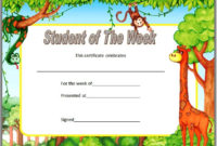 Student Of The Week Certificate Top 10 Super Star Designs throughout Star Student Certificate Templates