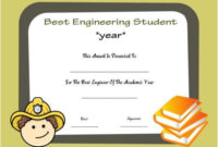 Student Of The Year Award Certificate Templates 20 Free pertaining to Student Of The Year Award Certificate Templates